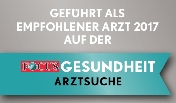 Prof. Dr. med. Jürgen Mäurer • FOCUS empfohlener Arzt 2017