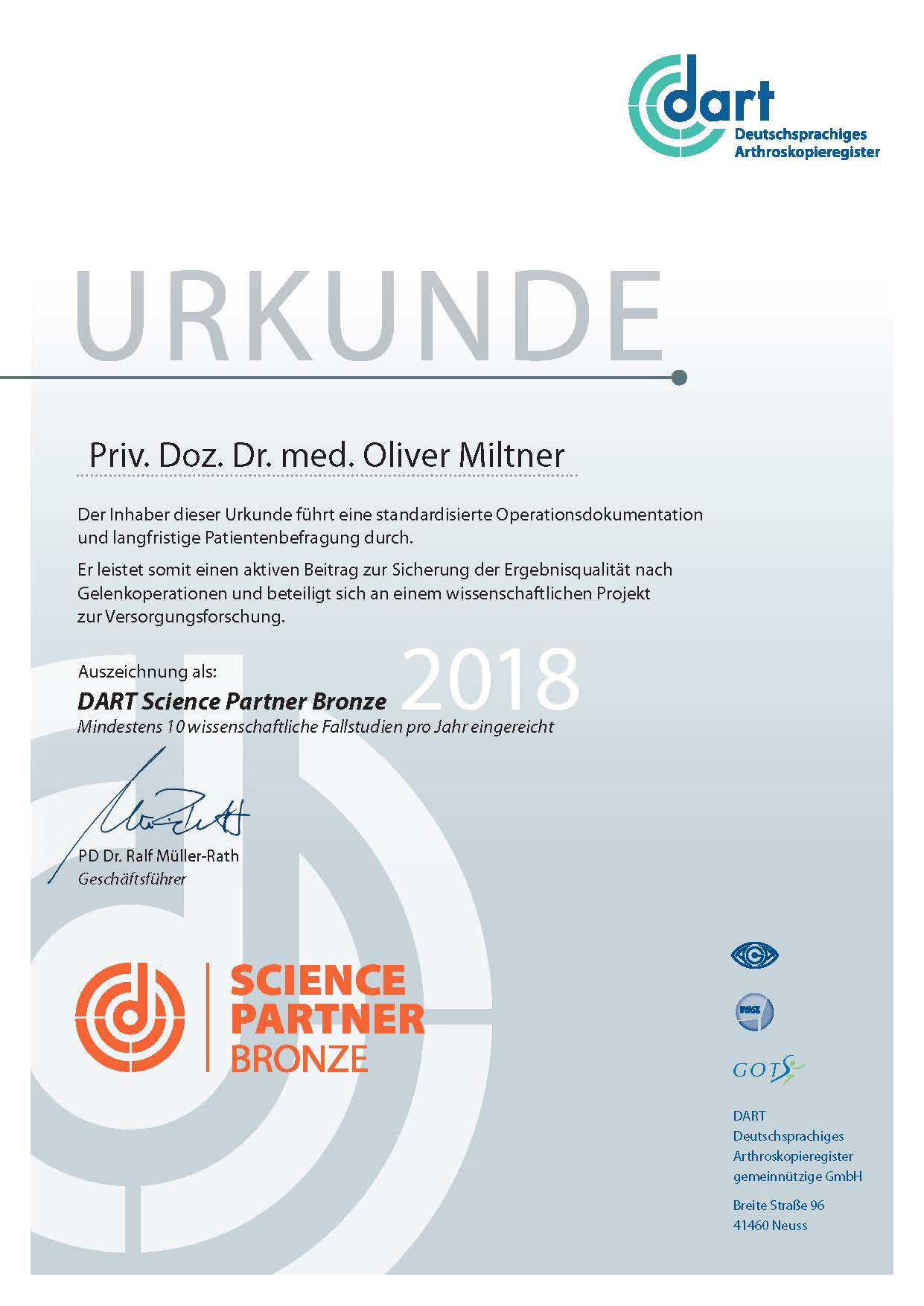Science Partner 2018
